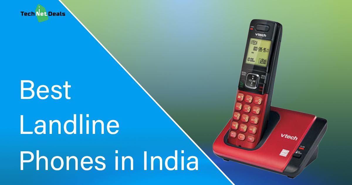 Top 10 Best Landline Phones In India Updated 2020 Tech Net Deals
